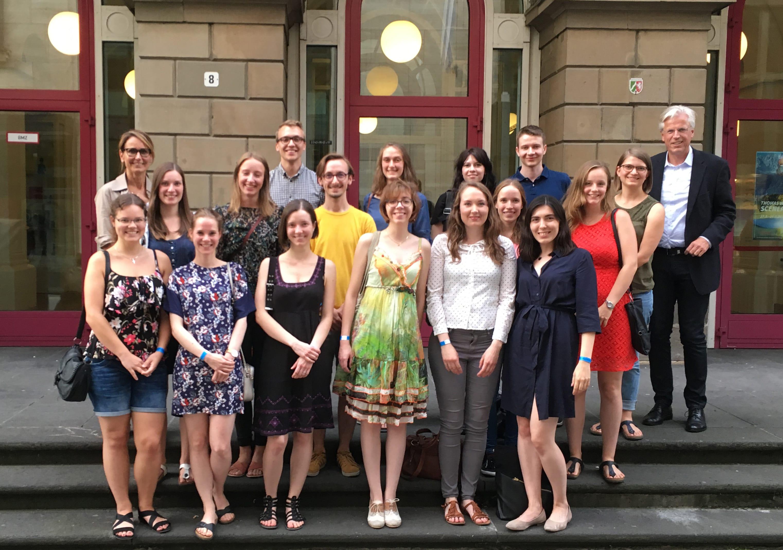 Treffen der Jackstädt – Stipendiaten im Von der Heydt-Museum in Wuppertal