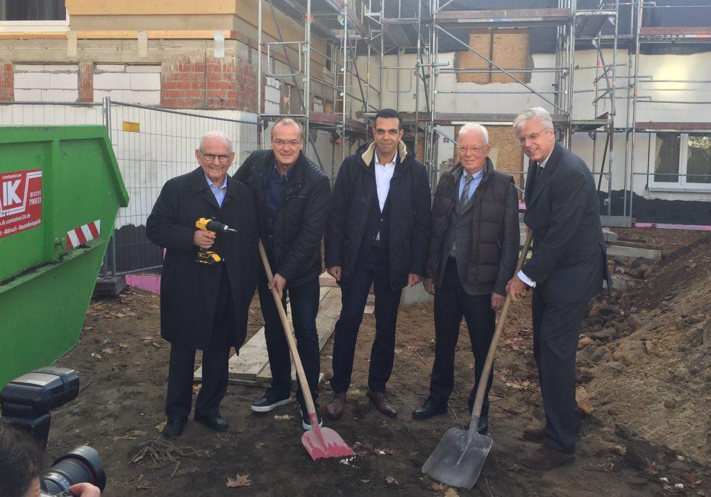 Richtfest für eine neue Kita am Lutherplatz in Krefeld – Eine Investition in die Zukunft