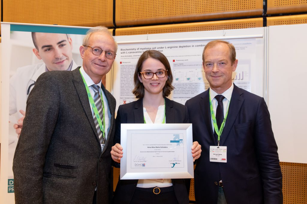 Dr. Werner Jackstädt-DGHO-Promotionsstipendium zur Förderung junger Wissenschaftlerinnen und Wissenschaftler